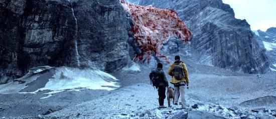 """Gletscher mit """"Algen""""-Bewuchs (via blutgletscher.at © Allegro Film / Harald Kienzl)"""