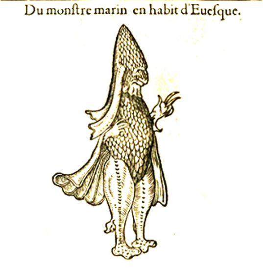 Darstellung eines Seebischof (via wikimedia.org)