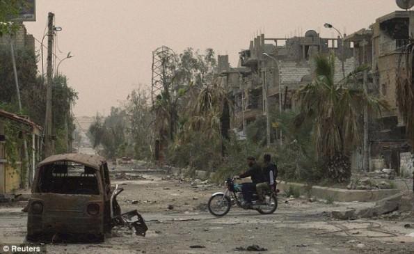 Deir ez-Zor wie es heute aussieht ©Reuters (via aboflan.com)