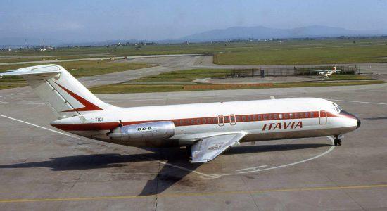 Eine DC9 der Itavia