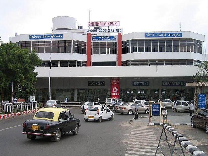 Der Flughafen von Chennai (via Wikimedia Commons)