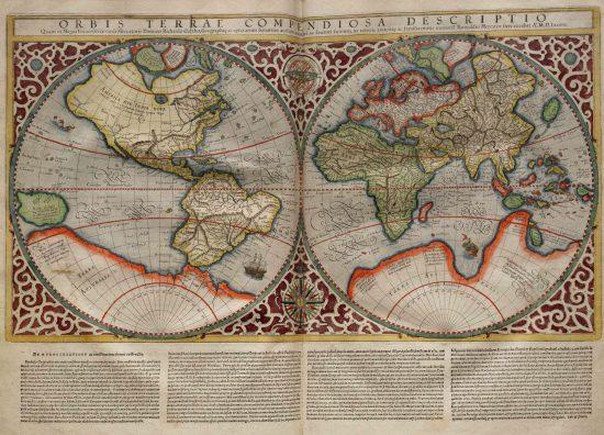 korrekte Markatorkarte von 1587 (wikipedia.org)