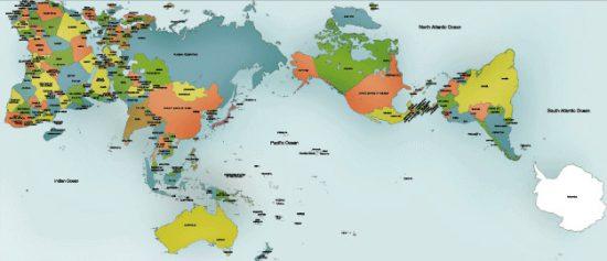 AuthaGraph Weltkarte (via autthagraph.com)