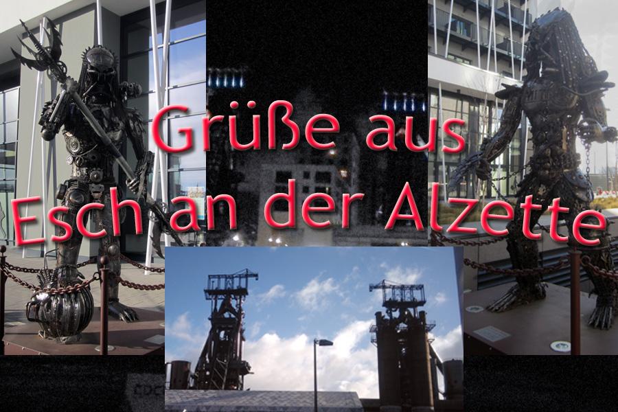 Postkarte aus… Esch an der Alzette