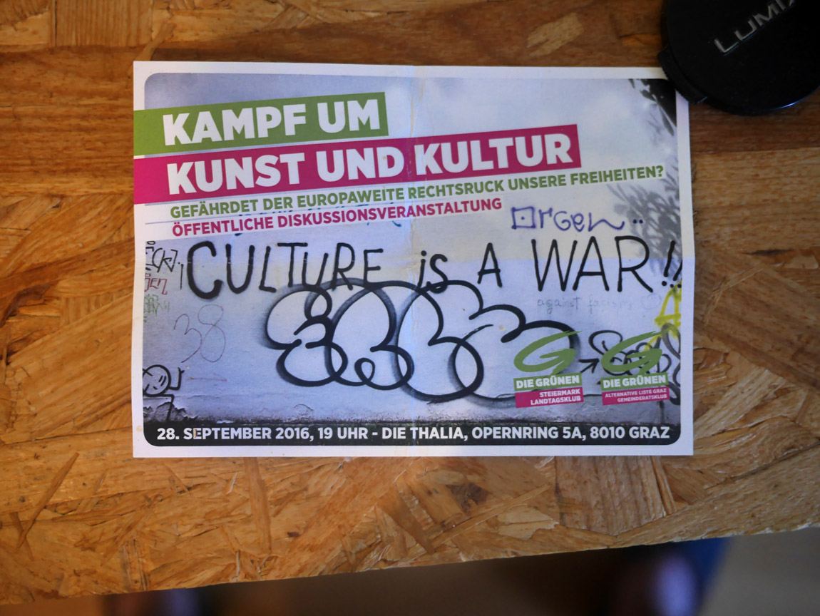 Culture is A WAR, Smiley wins