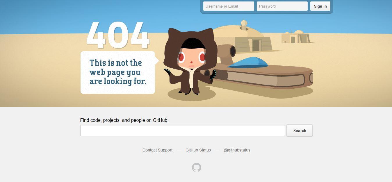 404: Hier gibt's nichts zu sehen