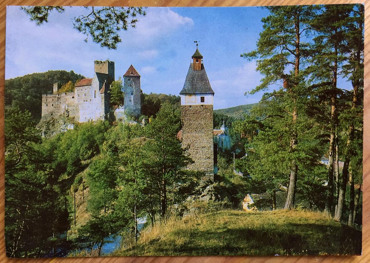 Postkarte aus… Hardegg
