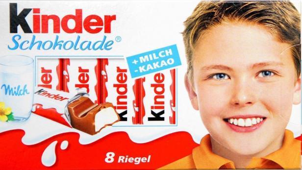 Mineralöl Kinderschokolade