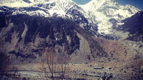 Manang, Annapurna, Gletscher