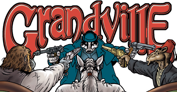 Grandville – Die tierische Retro-Utopie