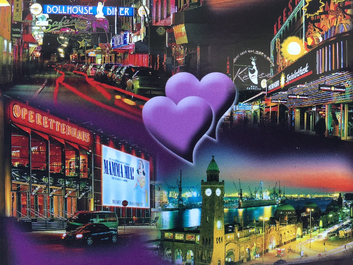 Postkarte aus… Hamburg