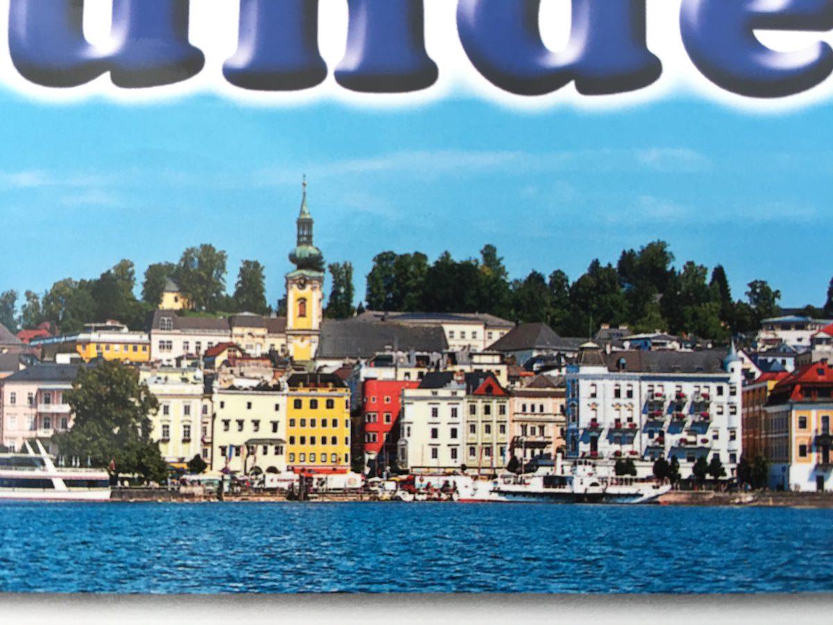 Postkarte aus… Gmunden