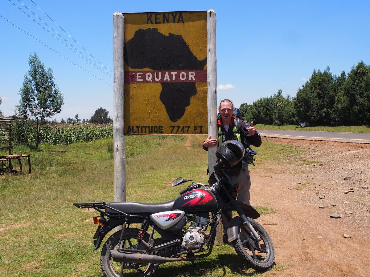 Afrikanisches Tagebuch #7 Äquatoriale Begegnungen