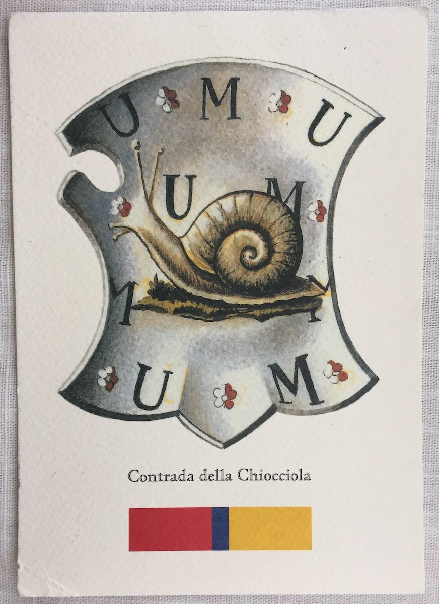 Postkarte aus… Siena