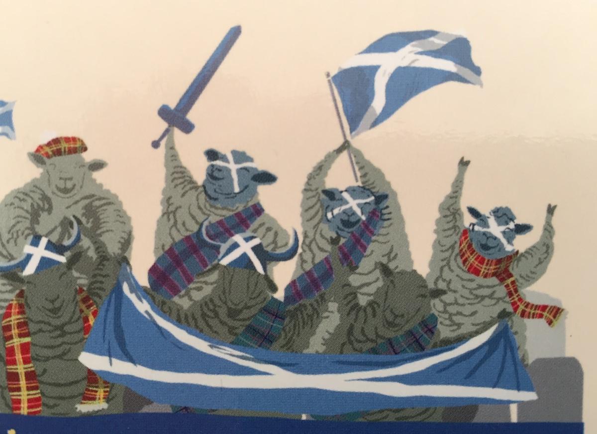 Postkarte aus… Schottland