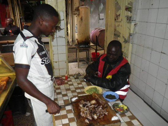 Kenia Essen Fleisch