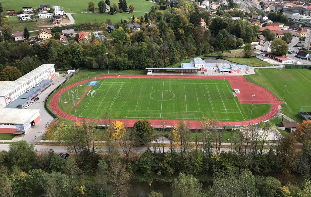 Sportplatz / Fussballplatz in Mürzzuschlag
